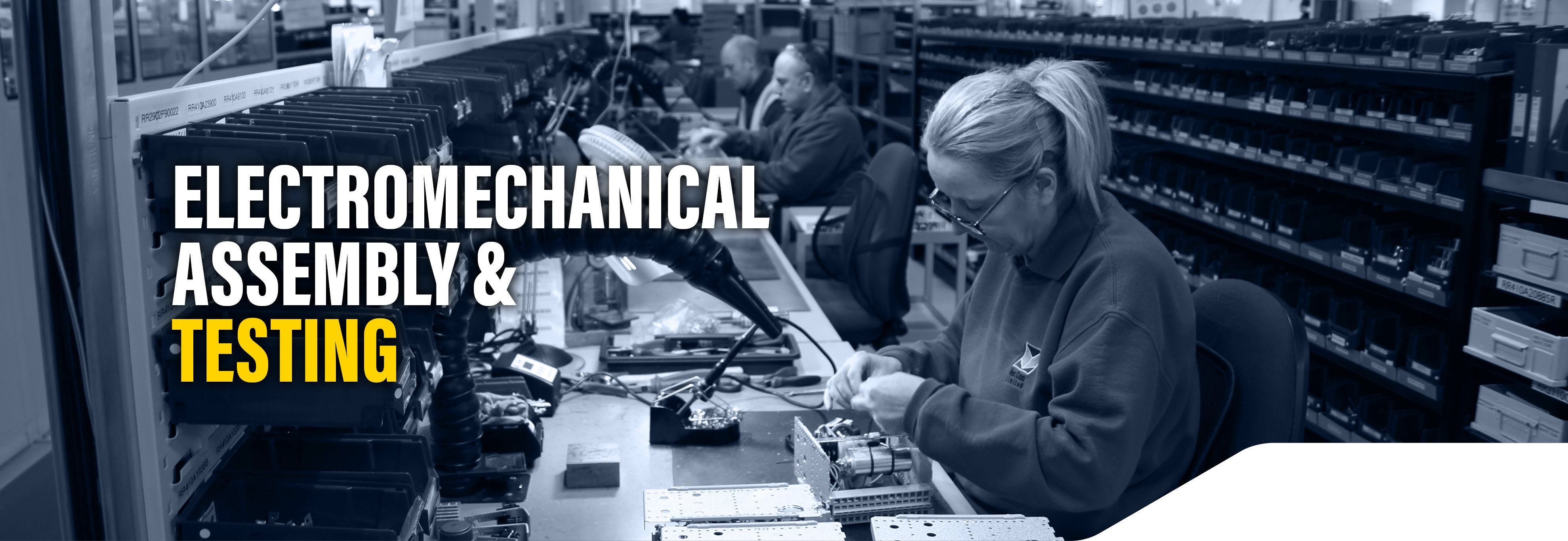 Electromechanical assembly and test